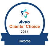 Avvo Clients Choice Award Divorce